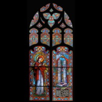 024-  Sept 11 memorial window complete - Corr Chapel Villanova University - Villanova PA (USA)