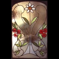 040- door panel - private residence - Siena (Italy)
