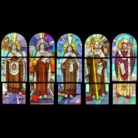 050- Carmelite saints - Carmelite Monastery Denmark WI (USA)