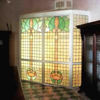 050- door panel - private residence - Poggibonsi - Siena (Italy)