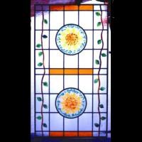 052-Door panel - private residence - Siena (Italy)