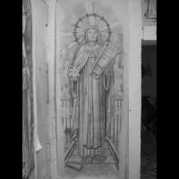 056- Edith Stain cartoon - Carmelite Monastery Denmark WI (USA)