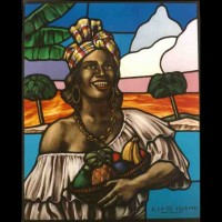 064-ladywestindian- Private collection - St Kitts