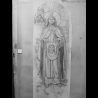 070- Theresa Holy Child cartoon - Carmelite Monastery Denmark WI (USA)