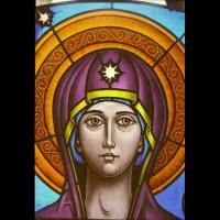 082- Madonna (part)- Carmelite Monastery Denmark WI (USA)