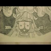 084-Madonna cartoon (part) - Carmelite Monastery Denmark WI (USA)