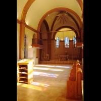 088- Internal view - Carmelite Monastery Denmark WI (USA)