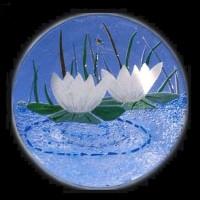 096- lotus tile
