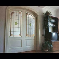 130- door panel - private residence - Siena (Italy)