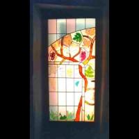 132- door panel - private residence - Siena (Italy)