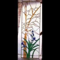 174-  door panel - private residence - Siena (Italy)