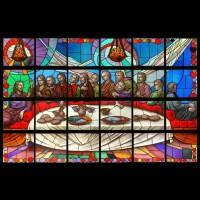 216- Cenacolo - St Augustine church - New City NY (USA)