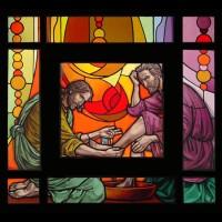236- washing feet - St Augustine church - New City NY (USA)