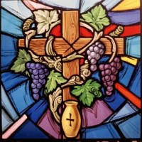 422- Eucharistic symbols - Christ the King Church - Courtney (CAN)