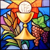 430- Eucharistic symbols - Christ the King Church - Courtney (CAN)