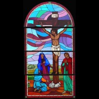 514- Crucifiction - Methodist church - Basseterre (Saint Kitts and Nevis)