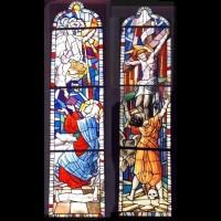 526-Annunciation Crucifiction- St Bernardone Parish church - Arezzo (Italy)